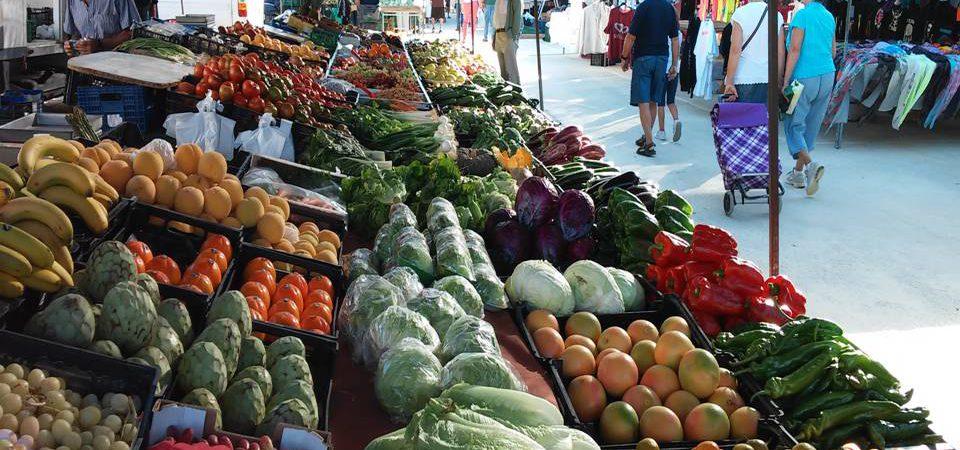 Mercado semanal de Puerto de Mazarron 26/10/14