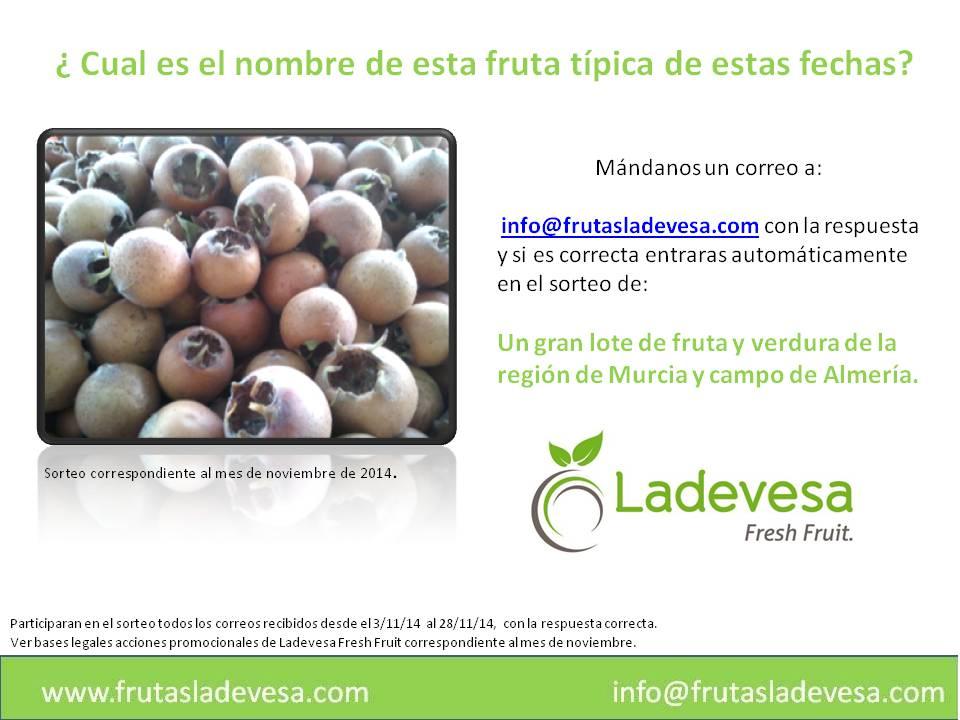 ¿ Cual es el nombre de esta fruta típica de estas fechas)