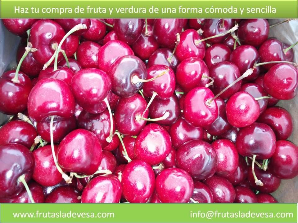 Cerezas en Ladevesa Fresh Fruit