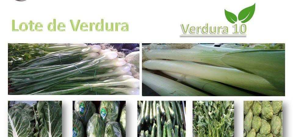 Lote de verdura 10, ( PROMOCIÓN )