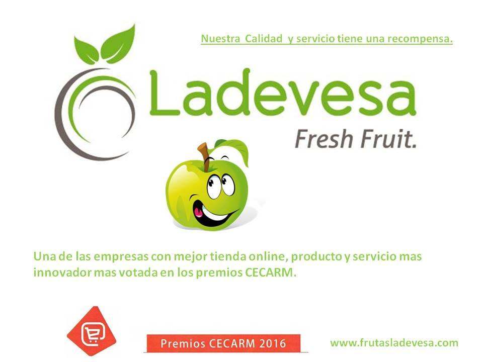 Ladevesa Fresh Fruit, empresa FINALISTA  en los premios CECARM