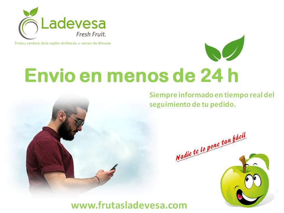 Tus pedidos de fruta y verdura en un solo Click