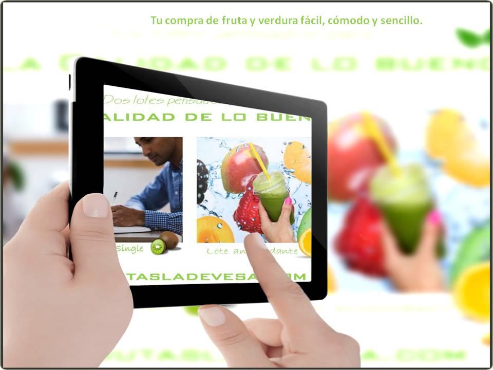 Tu pedido de fruta y verdura de la huerta de Murcia en menos de 24 h, estés donde estés.