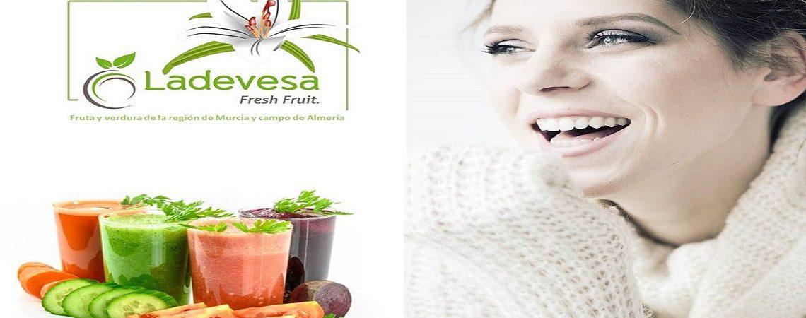 Ladevesa Fresh Fruit con la mejor fruta y verdura de la region de Murcia.
